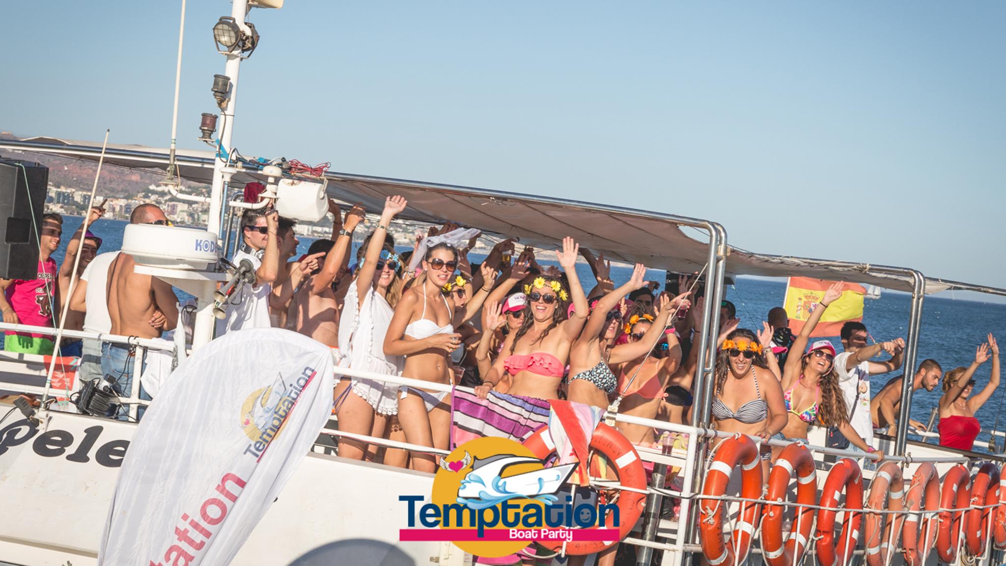 fiesta en barco malaga