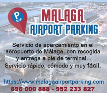 aparcamiento en el aeropuerto de malaga