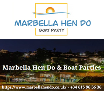 marbella hen do weekends