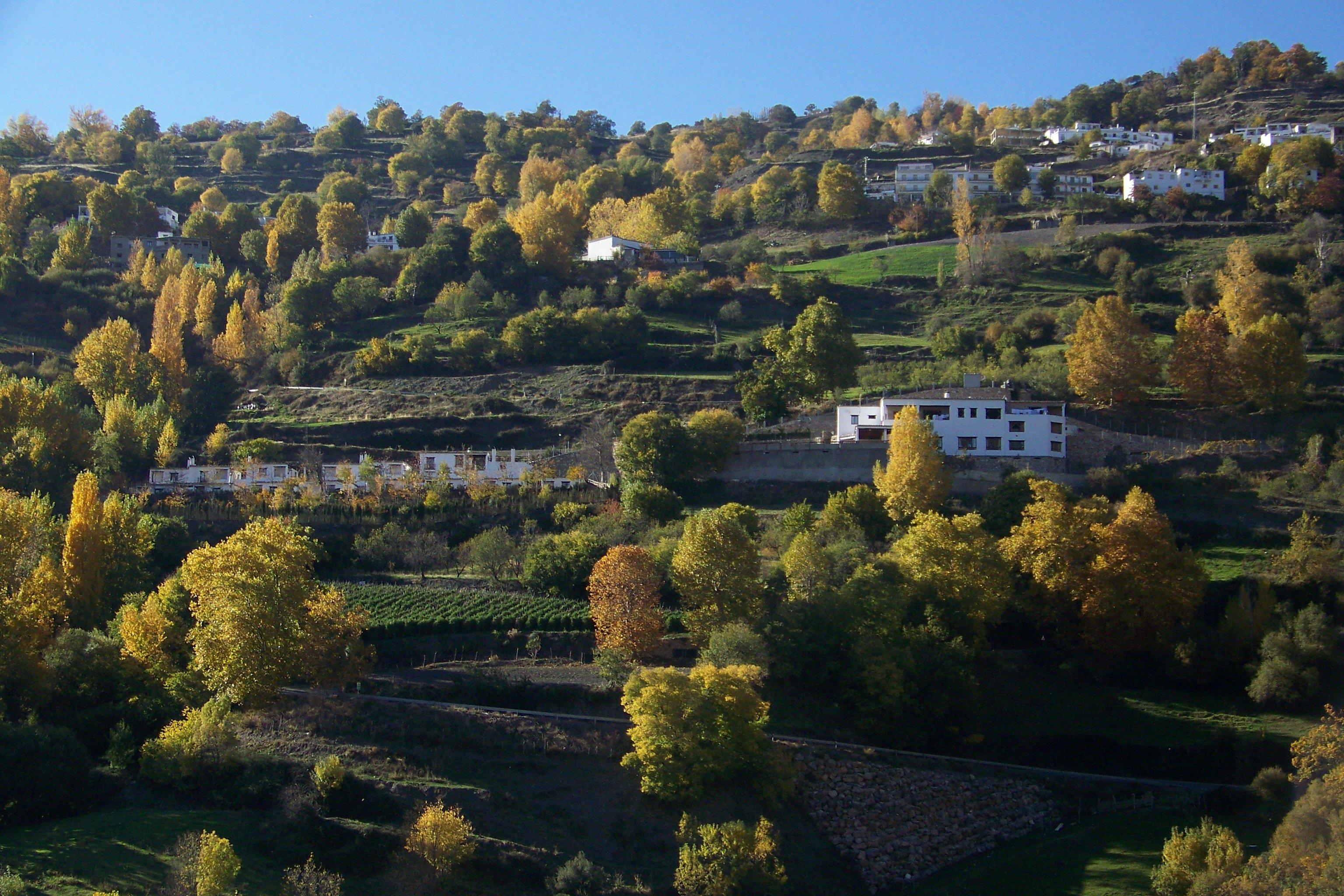 El Cercado en la Alpujarra de Granada