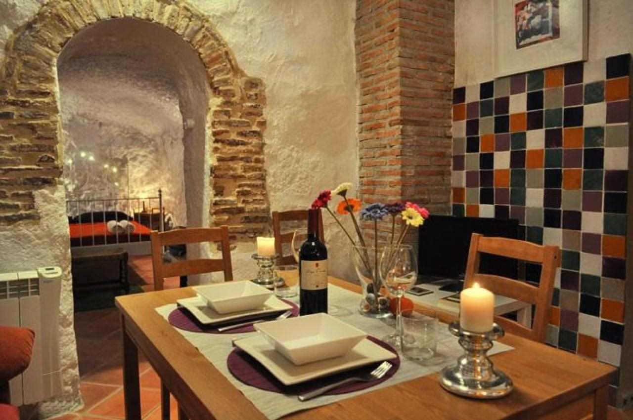 Preciosa y acogedora casa-cueva en Granada (España)